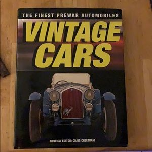 Vintage Cars hard cover book